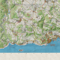 iZurvive DayZ & ARMA Map: Chernarus+ Hiking Map 1 04