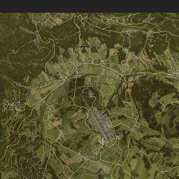 iZurvive DayZ & ARMA Map: Chernarus+ Satellite Map 1 04