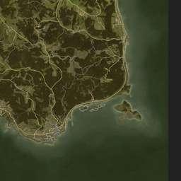 iZurvive DayZ & ARMA Map: Chernarus+ Satellite Map 1 04