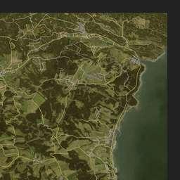 iZurvive DayZ & ARMA Map: Chernarus+ Satellite on