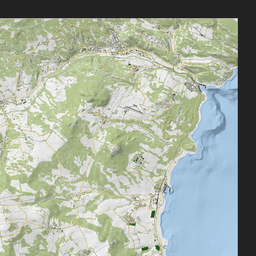 iZurvive DayZ & ARMA Map: Chernarus+ Terrain Map 1.0